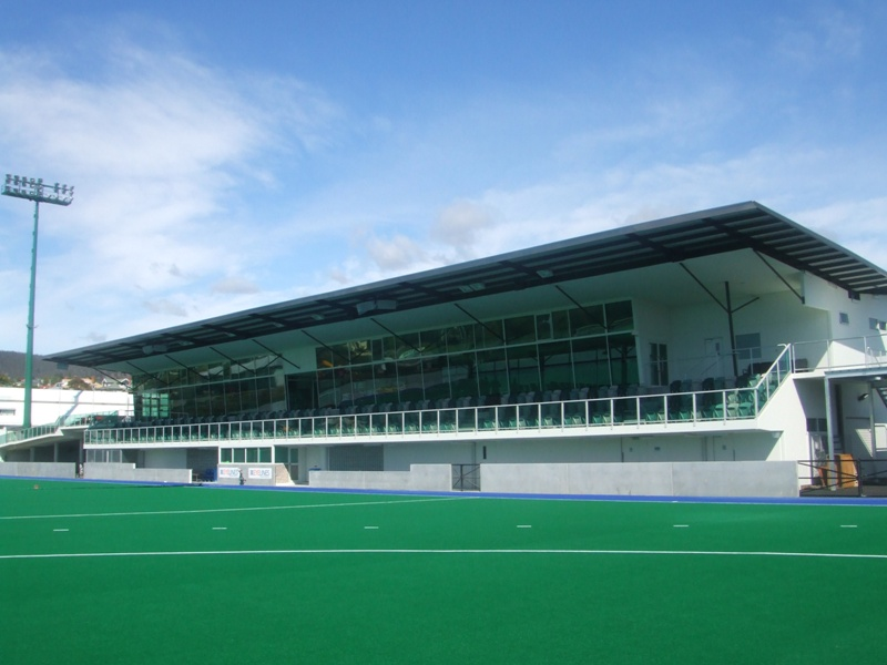 Tasmania Hockey Centre Construction